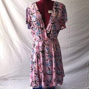 Purple Lulus Wrap Dress
